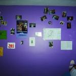 Figure 5.6 My wall. Sofia, age 16